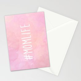 #Momlife - Pink Stationery Cards