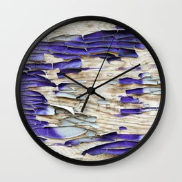 Chipped Wall Art Wall Clock