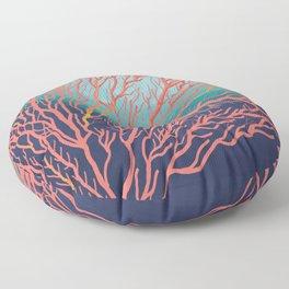 Coral Floor Pillow