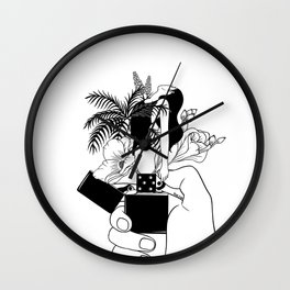 Light My Fire Wall Clock