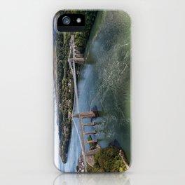 Menai bridge 2 iPhone Case
