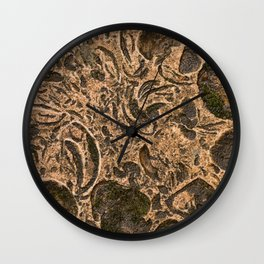 Stone background 3 Wall Clock