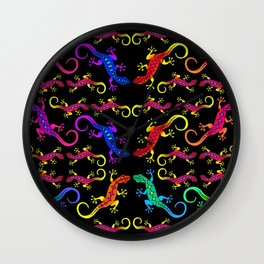 Gecko Puzzle Wall Clock