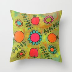 Kitchen Vibes Throw Pillow