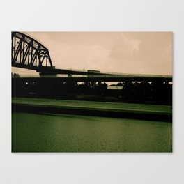 The colors of this World Canvas Print