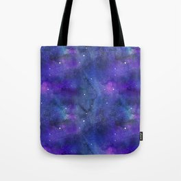 Watecolor Space Nebulae Tote Bag