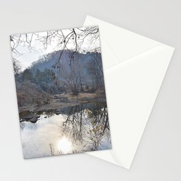 Reflecting Pool Stationery Cards