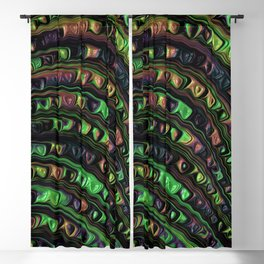 Weird Fractal Blackout Curtain