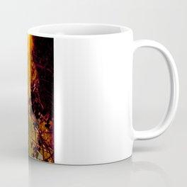A Strange Man in Fire Coffee Mug