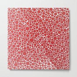 1990 Red Dots Metal Print