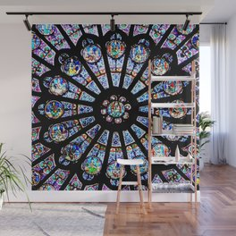 Cathedral Stained Glass Wall Mural