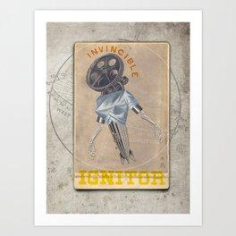 Los Invincible Ignitor Art Print