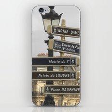 Paris Adventure  iPhone & iPod Skin