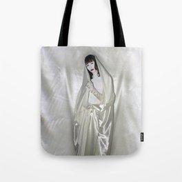 "say no to patriarchy / ""the madonna"" Tote Bag"