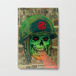 45 Death Soldier Metal Print