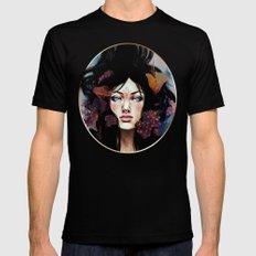 Fungus SMALL Mens Fitted Tee Black