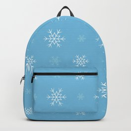 Snowflakes pattern Backpack