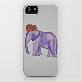 stylish elephant iPhone Case