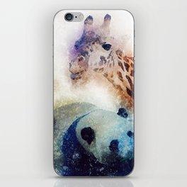 Animals Painting iPhone Skin