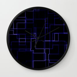 Neon is the Future Wall Clock