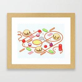 Tasty Visuals - Squeeze Me II Framed Art Print
