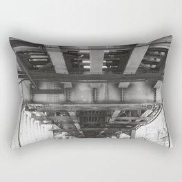Follow the Tracks Rectangular Pillow