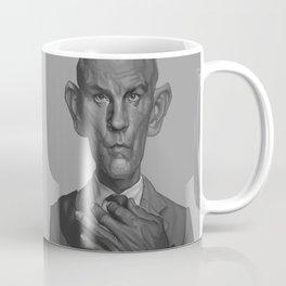 John Malkovich Caricature Coffee Mug