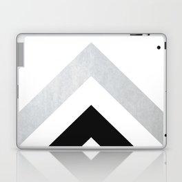 Minimalist Geometric - Black & Gold Laptop & iPad Skin