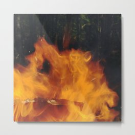 flame dance Metal Print