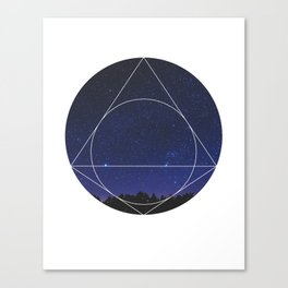 Magical Universe - Geometric Photographic Canvas Print