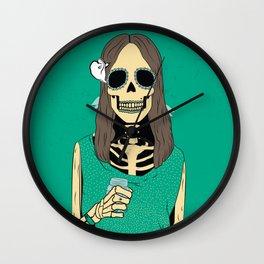 Mrs Bones Wall Clock