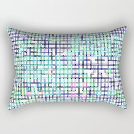 lines colors mystery relaxation in mystery Rectangular Pillow