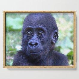 CArt Gorilla Baby Serving Tray