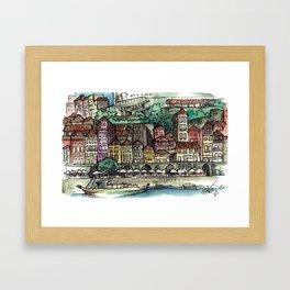Camino Portugués - Porto Framed Art Print