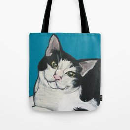 "Achilles the ""Cat From Hell"" Tote Bag"