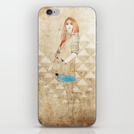 Girl One iPhone Skin