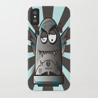 fault iPhone & iPod Cases featuring Fault 45 03 (its not his fault) by Face Leakage