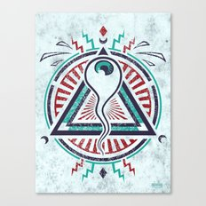 All Seeing All Knowing Canvas Print