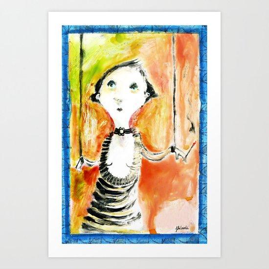 COLETTE Art Print