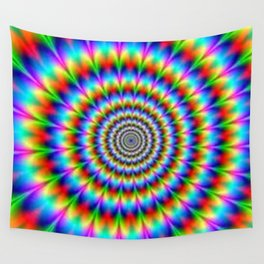 optical illusion Wall Tapestry