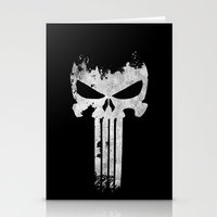 punisher Stationery Cards featuring The Punisher  by Ricardo A.