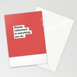 Fortune Findings - Display Refinement in Everything You Do Stationery Cards