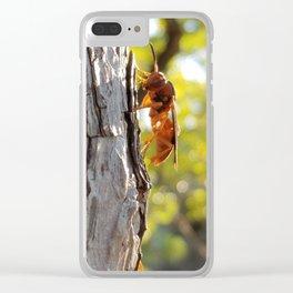 morning, predator Clear iPhone Case