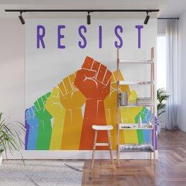 Resist (Pride) Wall Mural