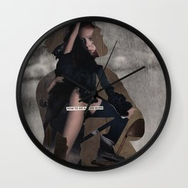 is there actually a middle ground between numb and hysterical or is that just another myth Wall Clock