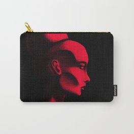 Red Cameo Carry-All Pouch