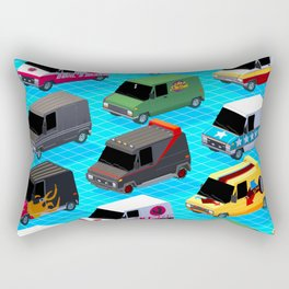 Secret life of Vans Rectangular Pillow