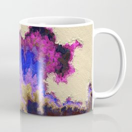 Restful. Mk2. Abstract Art by Tito Coffee Mug