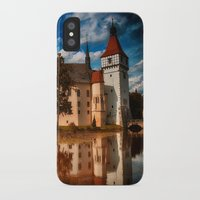 castle iPhone & iPod Cases featuring Castle by DistinctyDesign