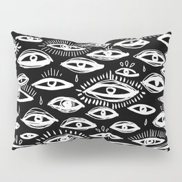 The Third Eye Black Pillow Sham